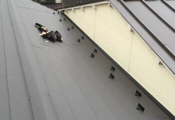 東京都墨田区 雨漏り屋根の修理 完成