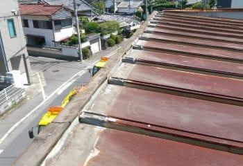 守口市の屋根リーフォーム開始