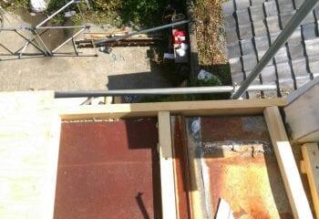 既存瓦棒をカバー工法でリフォーム