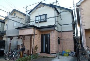 17.足場取り外し 横浜市外壁・屋根塗装工事 完成