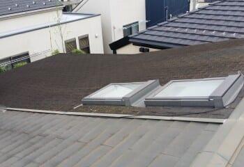 1.野田市 雨漏り屋根修理前1
