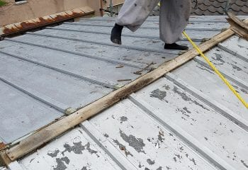 4.志木市 屋根工事開始