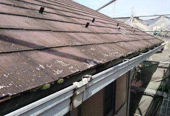既存スレート屋根
