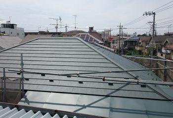 積水ハウスが手掛けた屋根のリフォーム完了