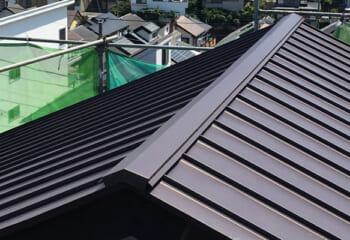 野田市 雨漏り屋根のリフォーム工事 完了