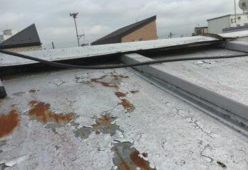 1.志木市の屋根工事 既存屋根の現場確認