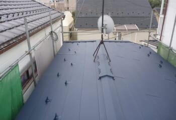 7.東村山市の雨漏り屋根の工事 完成