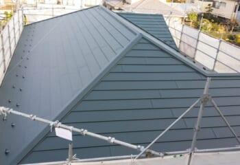 8.吉川市の屋根カバー工法 完成