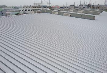 折板屋根工事完成