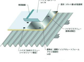 カバー工法 シート防水