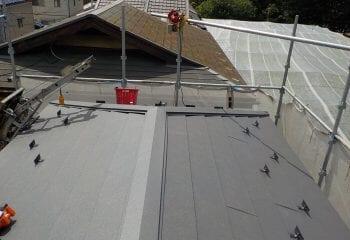 屋根リフォーム工事完成
