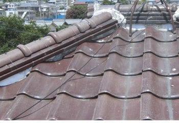 大阪市鶴見区 屋根葺き替え工事 現場調査