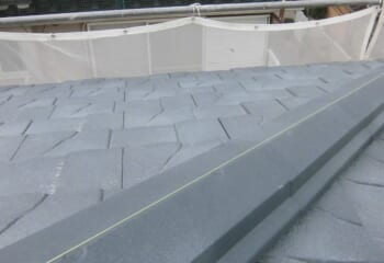 大阪市鶴見区の屋根リフォーム工事完成