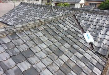 船橋市/既存屋根の現場調査