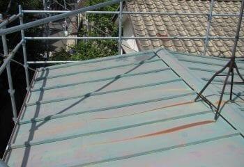 大東市 屋根葺き替え工事 現場調査