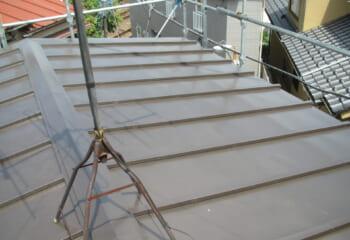 大東市の屋根リフォーム工事完成