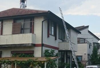 1.八王子市の屋根リフォーム工事 現場調査1