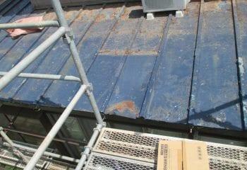 1.松戸市/既存屋根の現場調査