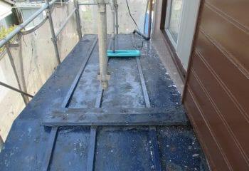 2.下屋根の状況