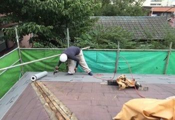 4.屋根リフォーム工事開始