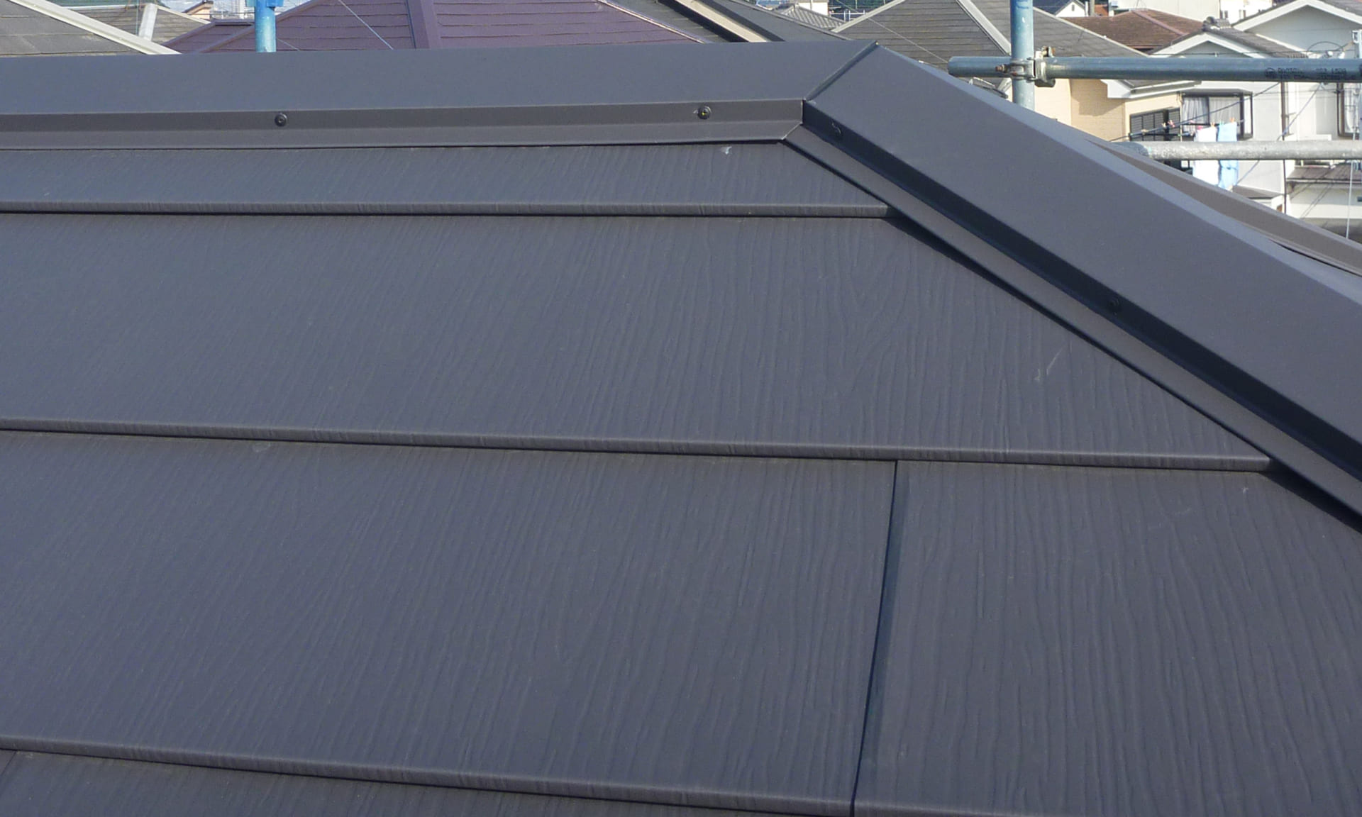 9.加須市の屋根リフォーム 完成