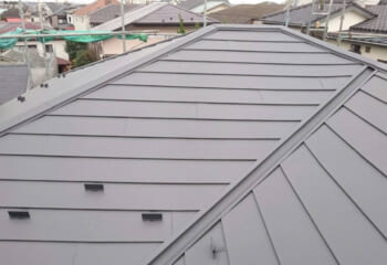 杉並区の雨漏り修理 屋根工事 完成