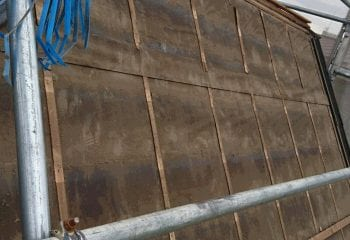 2.町田市の雨漏り屋根 葺き替え工事開始