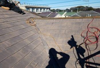 3.市川市の屋根リフォーム工事開始
