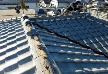 3.屋根リフォーム工事開始
