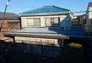 1.八王子市トタン屋根 雨漏り調査1