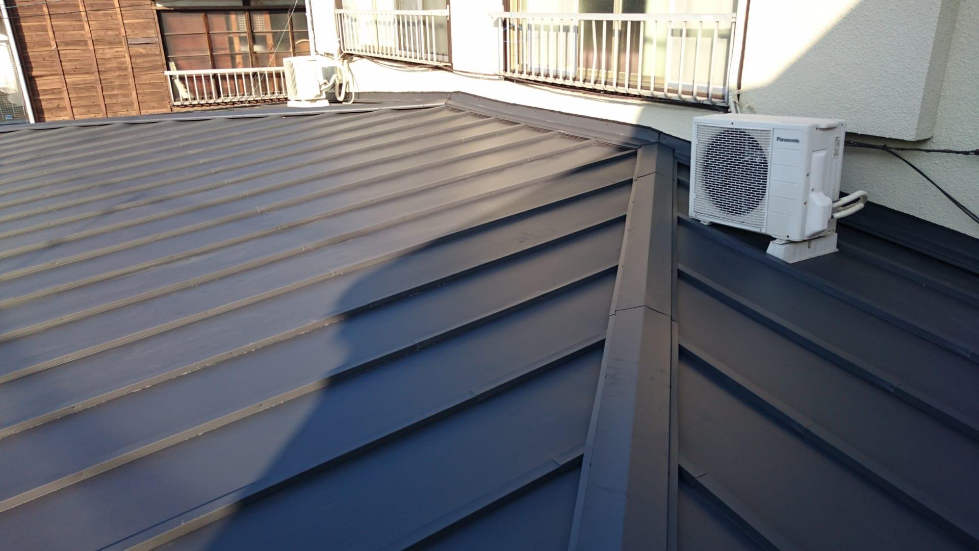 12.東京都八王子市の雨漏り屋根の葺き替え工事 完成