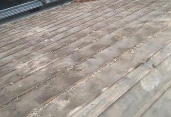 6.横浜市 雨漏り屋根の葺き替え工事 開始