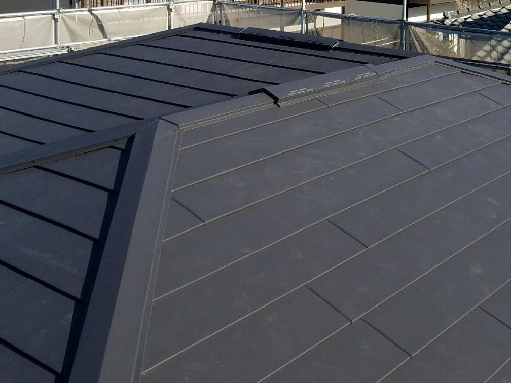 11.東京都北区の雨漏り屋根の葺き替え工事 完成