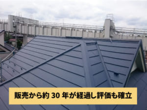 ガルバリウム鋼板の耐久性
