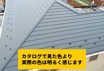 金属屋根のお勧めカラー