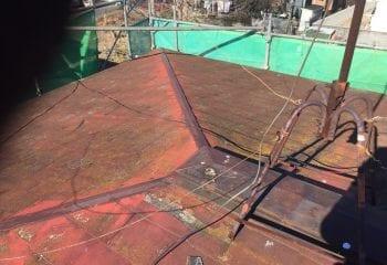 3.川崎市 劣化した棟板金