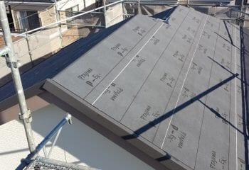 6.軽量金属屋根葺き開始