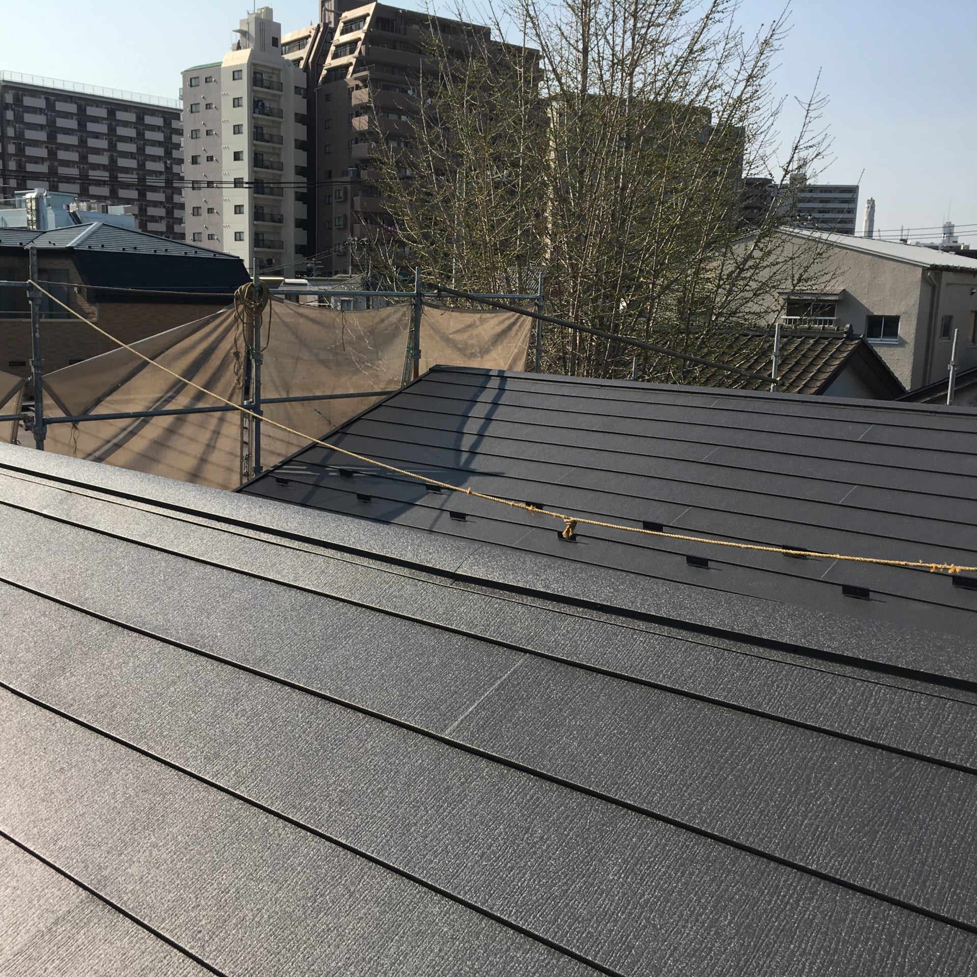 足立区の屋根葺き替え工事 完成