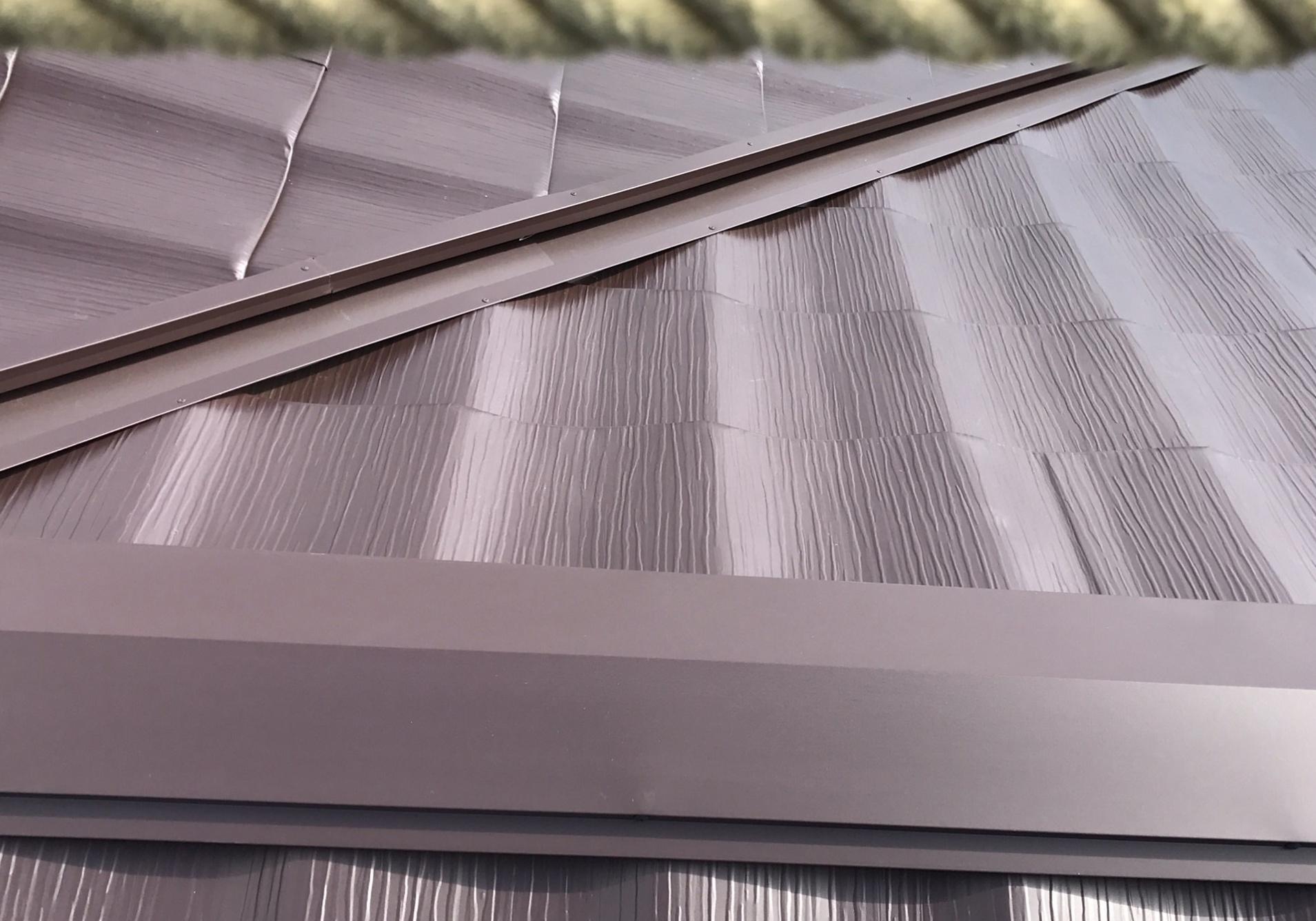 神戸市 和風金属屋根への葺き替え工事 完成
