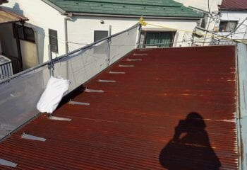 2.横浜市金沢区 既存トタン屋根