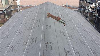 5.屋根工事 開始