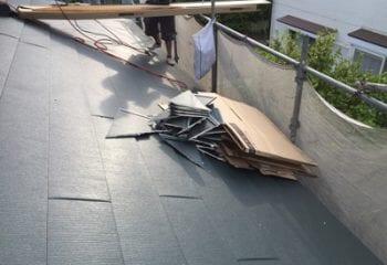 8.切断した屋根
