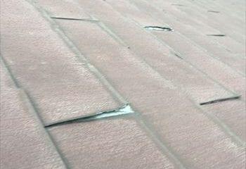 2.捲れた屋根