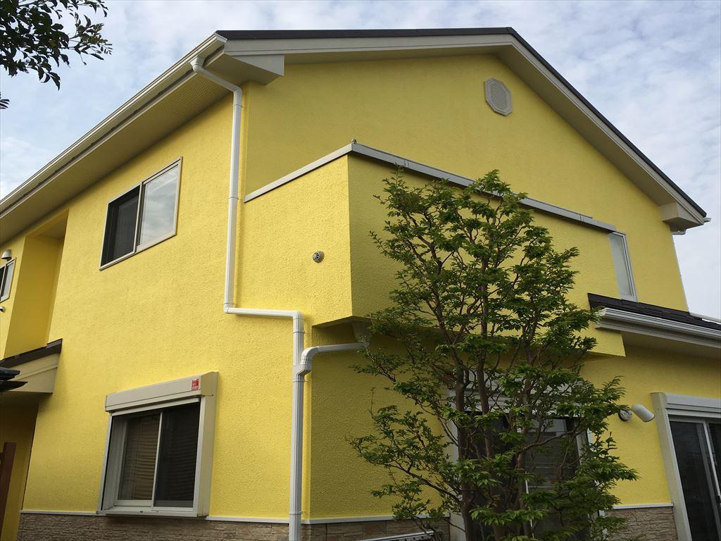 13.横浜市の屋根カバー工法と外壁塗装工事 完成