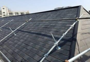 練馬区 アパート屋根の修理工事完成