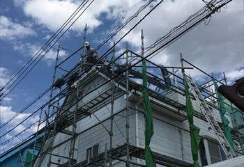 4.松戸市 屋根と外壁リフォームの開始
