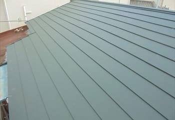 屋根ふき工事完成