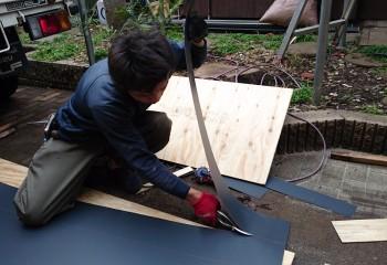 鼻隠しや破風板の修理には足場が必要?