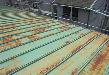 1.横浜市鶴見区 トタン屋根の雨漏り修理