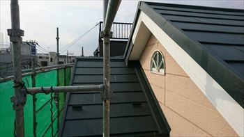 8.外壁との取り合い部の施工